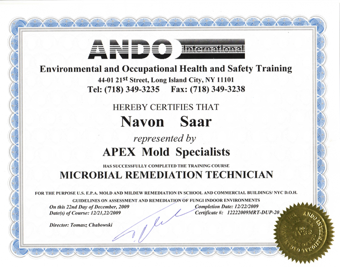 apex mold specialists – removal, remediation, inspection, testing ...
